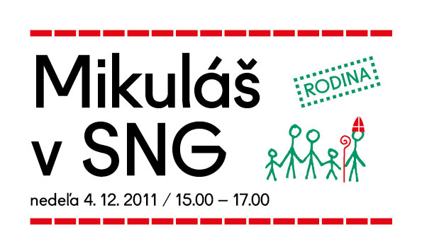 InformácieZoberte na Mikuláša deti do Slovenskej Národnej Galérie