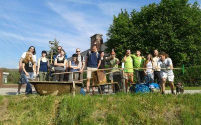 Zelená hliadka dokončila upratovanie Chorvátskeho ramena