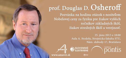 InformácieNositeľ Nobelovej ceny príde na Slovensko