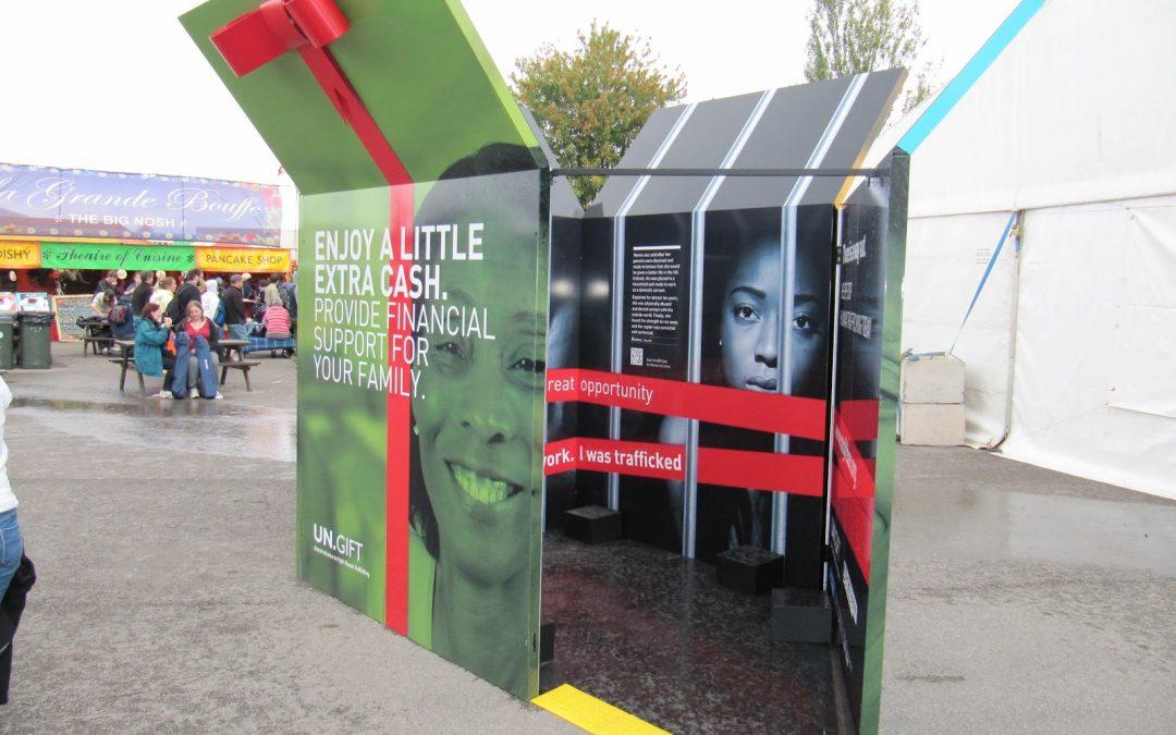 InformácieDarčeky v uliciach olympijského Londýna