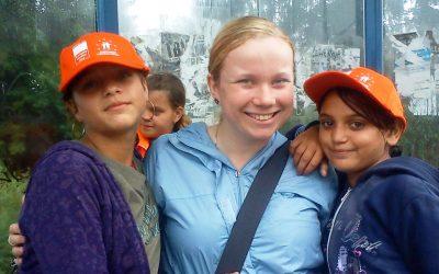 Na chate s mladými Rómkami