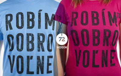 72 hodín + tričká