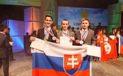 Mladí Slováci víťazmi na svetovej olympiáde