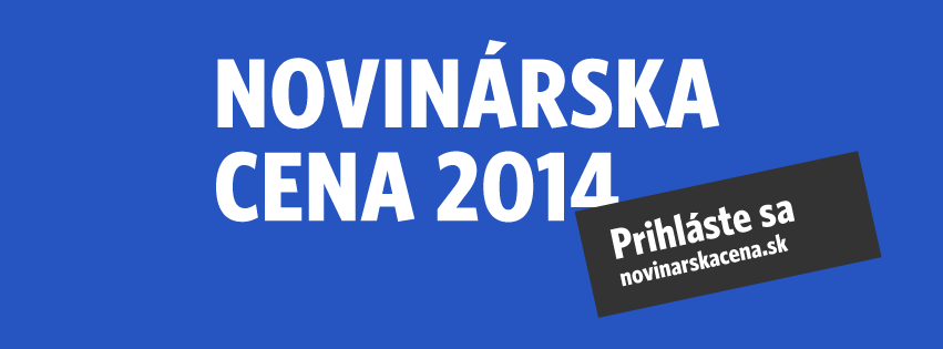 AktualityNovinárska cena 2014