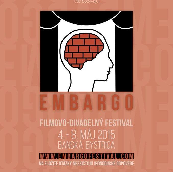 AktualityEmbargo – festival divadla a filmu