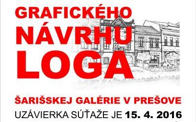 Navrhni logo pre Šarišskú galériu