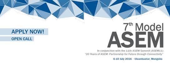 PonukyEuro-ázijský modelový summit pre študentov