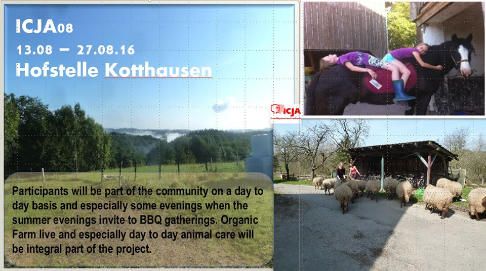 PonukyOrganická farma Kotthausen