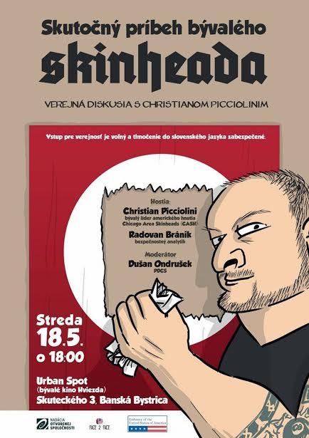PonukySkutočný príbeh bývalého skinheada (verejná diskusia)
