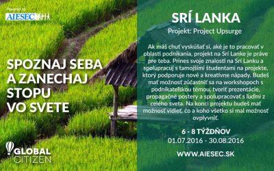 Projekt Upsurge-Srí Lanka