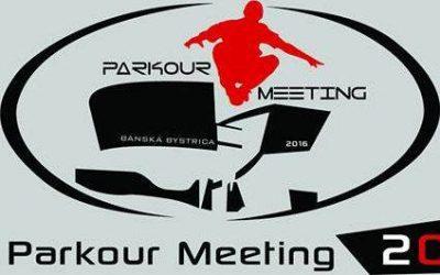 Pomoc pri príprave Parkour Meeting Banská Bystrica 2016