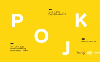 SPOJKY 2016 – festival literatúry a súčasného umenia