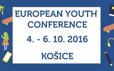 Už len týždeň! Európska konferencia v Košiciach dá hlas mladým