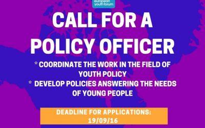 Koordinátorka/koordinátor politických záležitostí v Európskom fóre mládeže