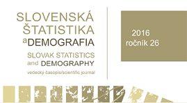 Tretie tohtoročné číslo Slovenskej štatistiky a demografie bolo sprístupnené online