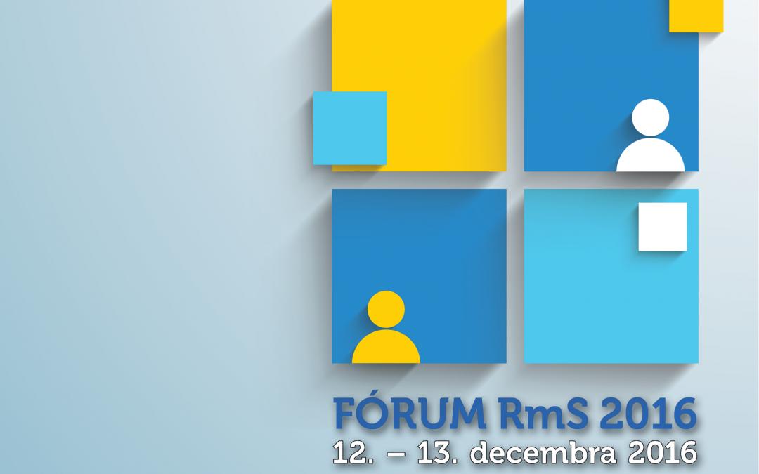 InformácieRada mládeže Slovenska pozýva na FÓRUM 2016