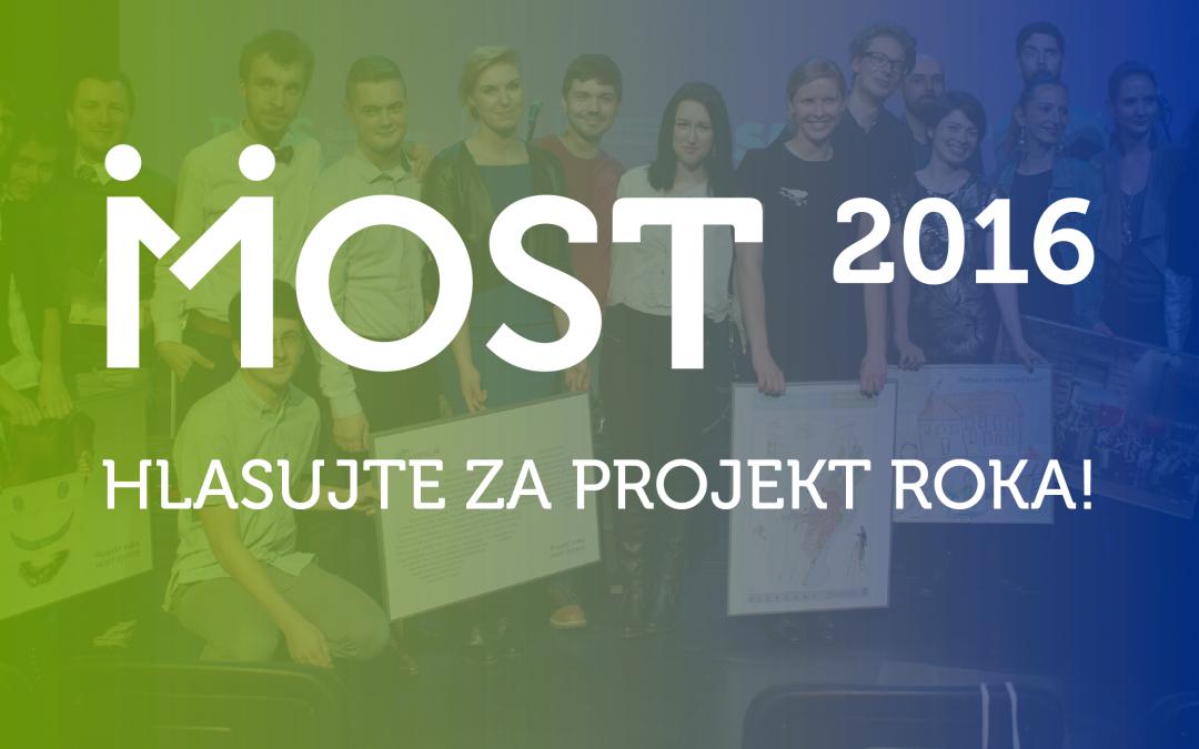 InformácieRozhodnite ovíťaznom Projekte roka Most 2016!!