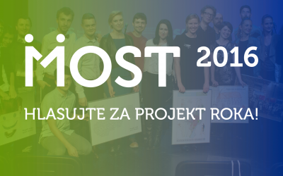 Rozhodnite ovíťaznom Projekte roka Most 2016!!