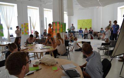 Pracovná výpomoc v Impact hube Viedeň