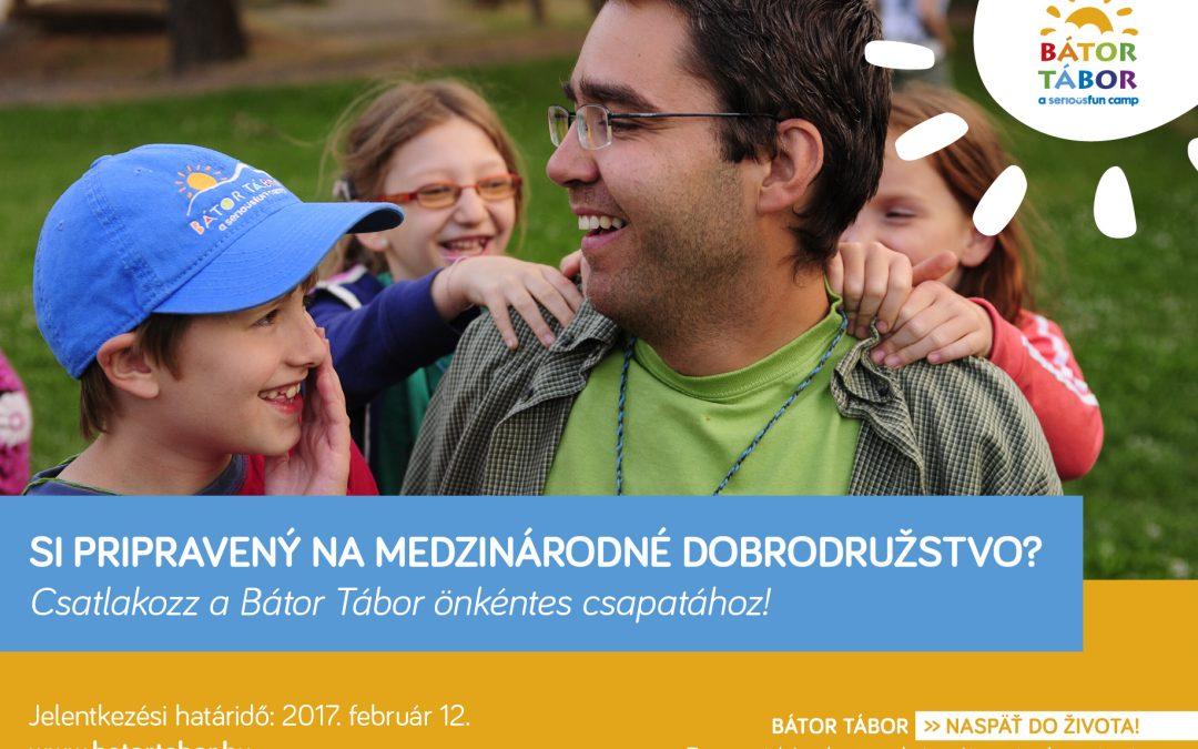 PonukyPomôž onkologicky chorým deťom ako dobrovoľník na medzinárodnom tábore zážitkovej terapie