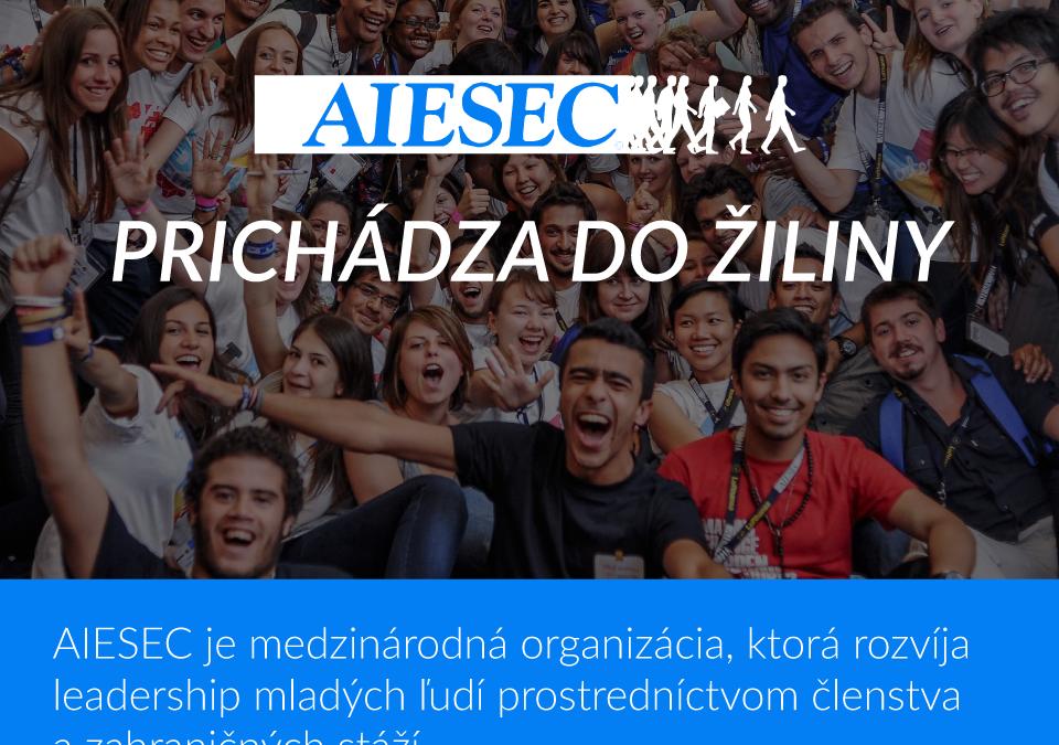 Otvorenie novej pobočky AIESEC na Žilinskej univerzite