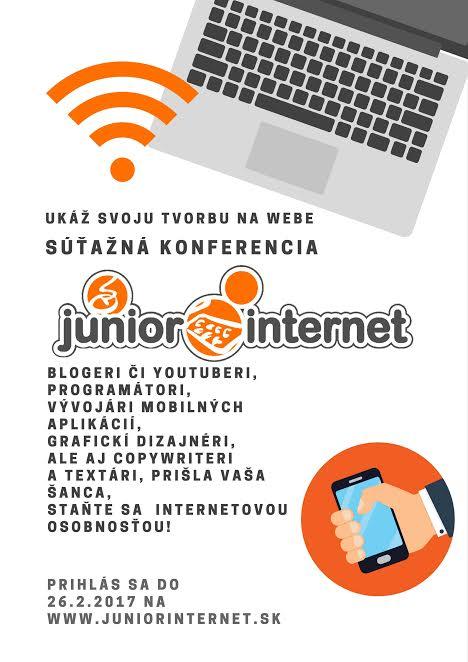 """PonukySúťaž """"Junior Internet"""""""