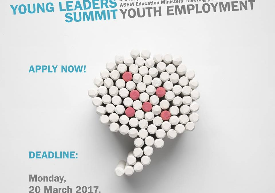 """Ponuky""""2. Euroázijský samit mladých lídrov"""""""