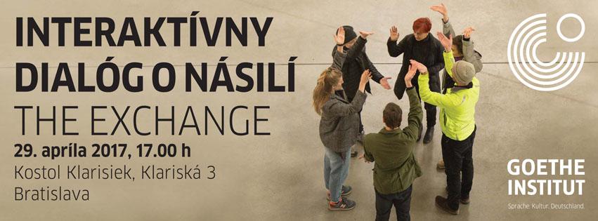 """PonukyInteraktívny dialóg o násilí – """"The Exchange"""""""