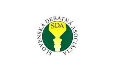 Práca pre Slovenskú debatnú asociáciu