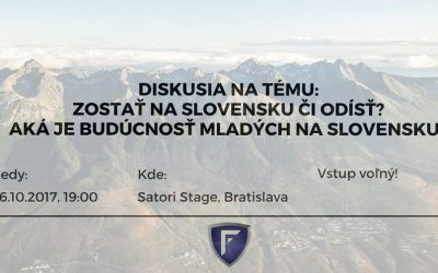 Zostať na Slovensku či odísť? Aká je budúcnosť mladých na Slovensku?