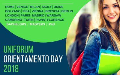 """Veľtrh zahraničných univerzít – """"Uniforum Orientamento Day"""""""