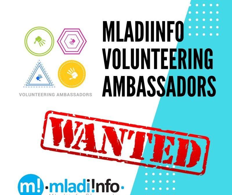 PonukyMladiinfo Slovensko hľadá ambasádorov dobrovoľníctva
