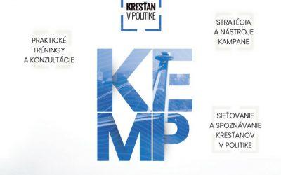 ZKSM aj tento rok chystá úspešný kemp Kresťan v politike