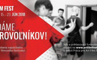 Poď robiť dobrovoľníčku/dobrovoľníka na Art Film Fest Košice 2018!