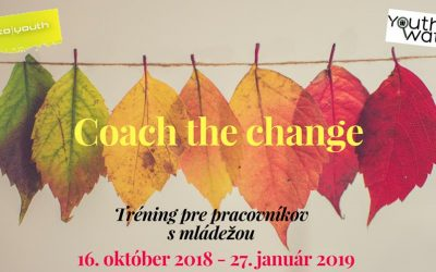 "Projekt – ""Coach the change"""