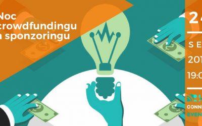Noc crowdfundingu a sponzoringu