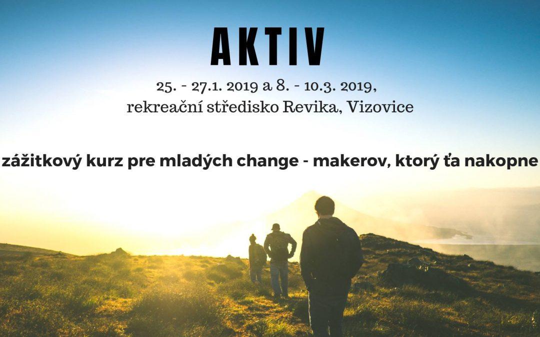 PonukyČesko-slovenský kurz AKTIV hľadá posledné tímy