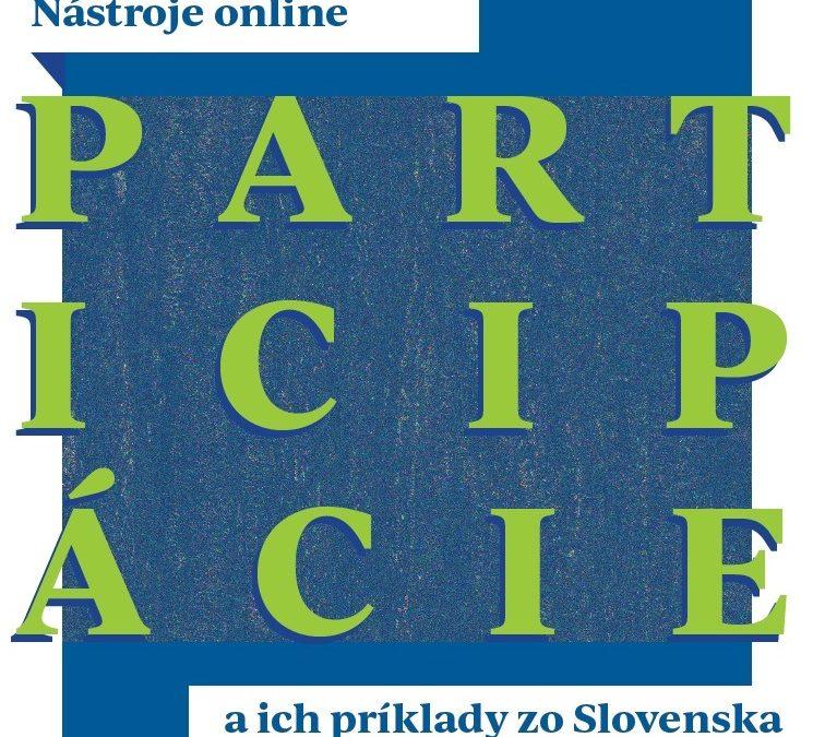 InformácieNapísali sme príručku o online participácii