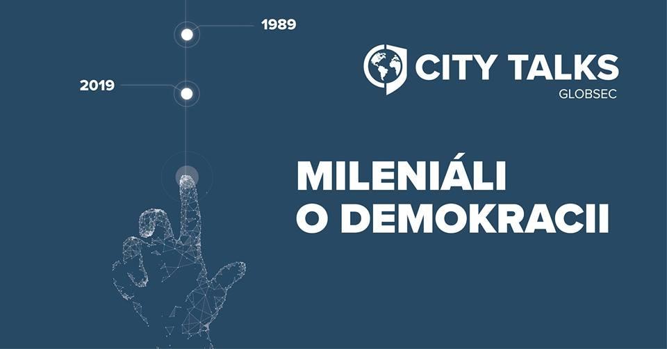 "PonukyGLOBSEC City Talks – ""Mileniáli o demokracii"""