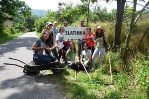 ECO workcamp v dedinke Slatinka