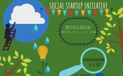 """Medzinárodné školenie – Build your own """"Social Startup Initiative"""""""