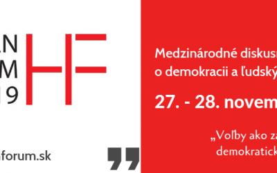 """Medzinárodná konferencia o ľudských právach – """"HUMAN FORUM"""""""