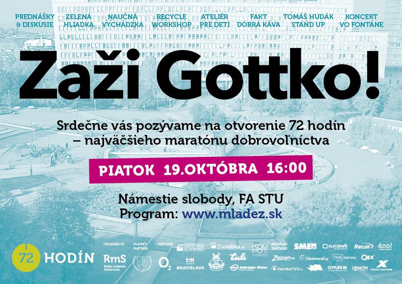 InformácieZaži Gottko!
