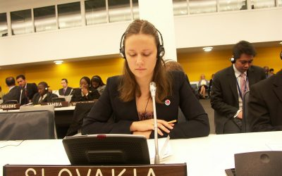Skúsenosť v OSN mi pomohla zistiť čomu sa chcem venovať