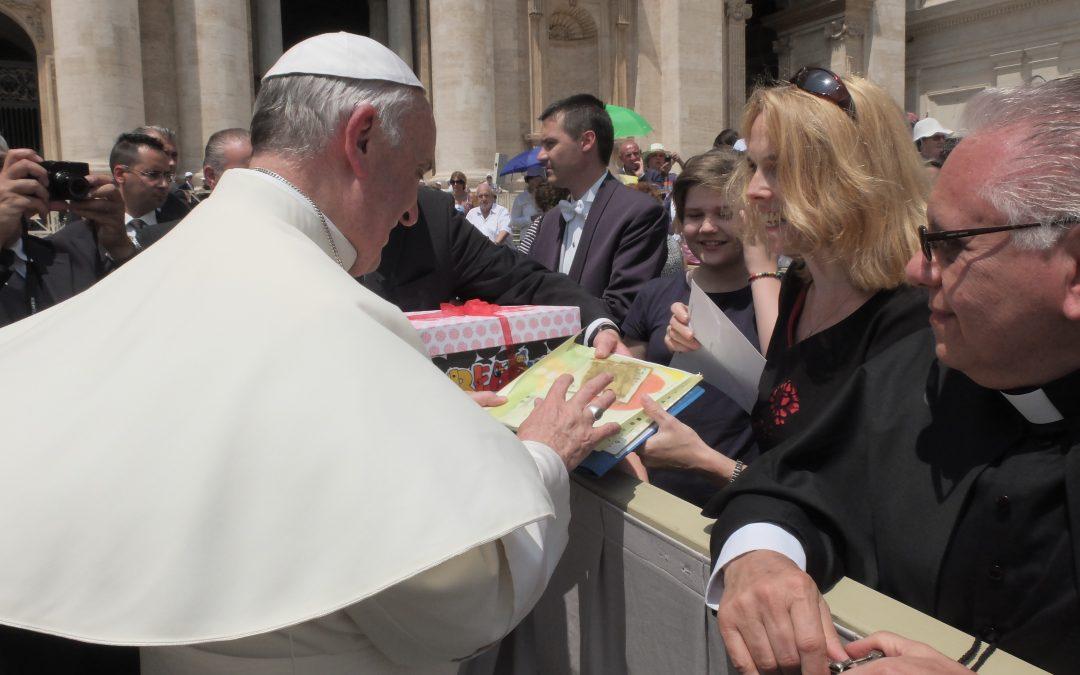 InformácieeRkári sa stretli s pápežom Františkom
