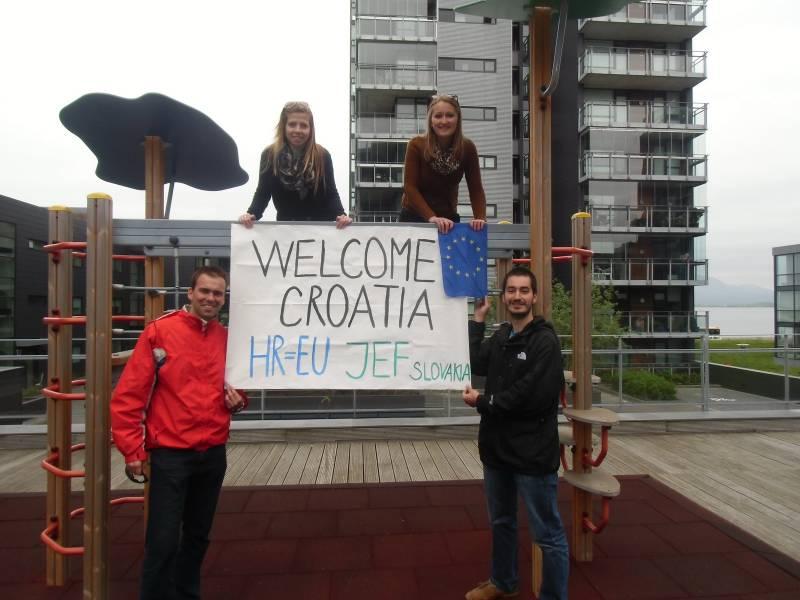 InformácieKampaň JEF SLovakia ku vstupu Chorvátska do Európskej únie