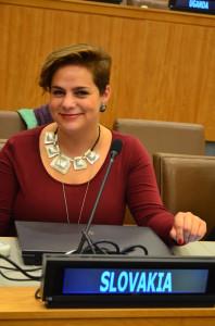 Hana Skljarszka v OSN