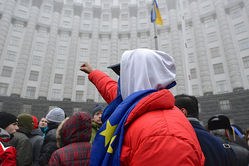 InformácieMladí priatelia Európy podporujú proeurópskym protestom v Ukrajine