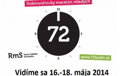 72 hodín dobrovoľníctva je tu!