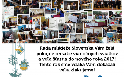 PF 2017 od Rady mládeže Slovenska